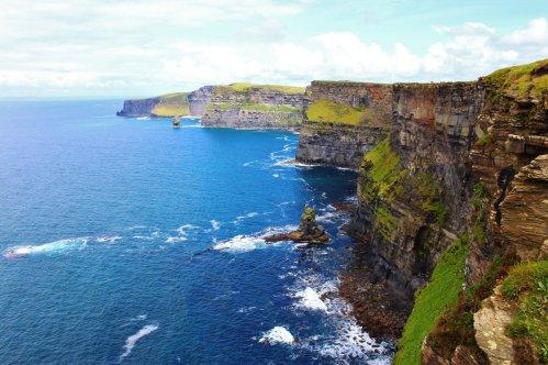 Cliffs of Moher, Irlanda. Foto scattata da Maria Chiara Magnano