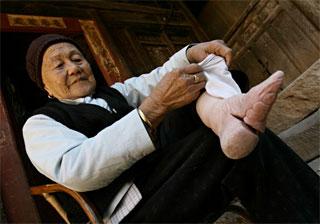 bound-foot